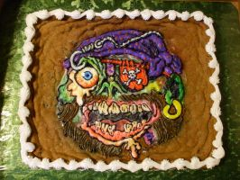 Zombie Pirate Cookie by ArtsyLady