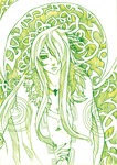 Yggdrasil_The Witch of the North by SoulOfPersephone