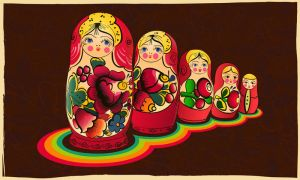 Russian matryoshka by canonto