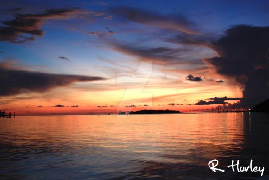 Sunset in Paradise by RLH-Photography