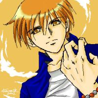Kyo from Fruits Basket by dokitori