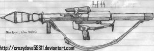 PanzerFaust 44 by CrazyDave55811