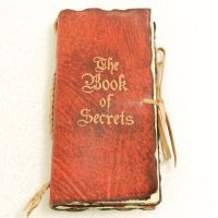 Red Leather Book of Secrets. by gildbookbinders