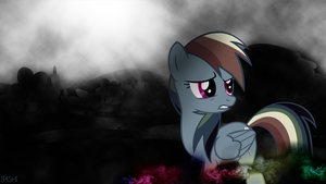 Rainbowdash in the Dark - Wallpaper [1920x1080] by Nakan0i