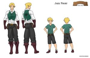 Jack Frost update colored by Transbot9