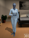 Liara Pyjama (XPS) by Grummel83