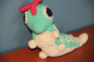 #010 caterpie by pokecrochetchallenge