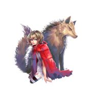 Little Red Riding Hood by mad1101