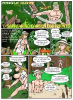 Jungle Janet-Disappearing Carbon Footprints 1 (X) by pete1672
