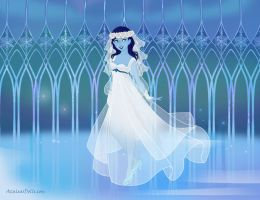 Snowrose's wedding dress by heart8822
