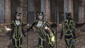 Sinestro Corps Catwoman Final by MrJustArkhamGames
