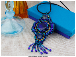 Lapis-Lazuli Pendant by little-cruel-thing