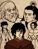 Zuko: Loyalties by foxysquid