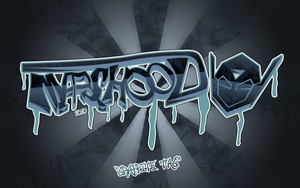 GRAFFITI TAG logo by MARSHOOD