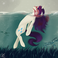 Rarity emulating Elisa Day by spittfireart