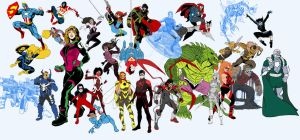 Alll New 52 Amalgam Now Spider-Boy by Needham-Comics