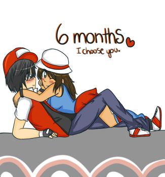 6 Months (I choose you) by TiaraButterfly
