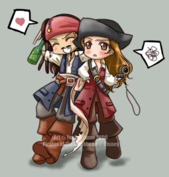 PotC 2- Peas in a Pod, Darlin' by YoukaiYume