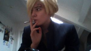 Sanji Dissaproves of your Cooking by CoolShazza