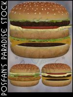 Fast Food 009 Burger by poserfan-stock