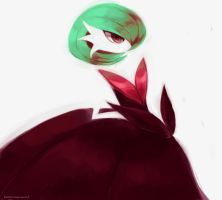 Shiny Gardevoir by CrazedPochamaXD