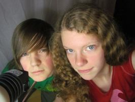My Brother and I by BrielleNicole