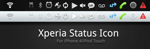 Xperia Status Icons by addyf812