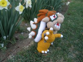 Crocheted Bowser 1 by aphid777