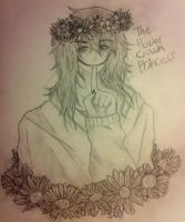 Jeff The FlowerCrownPrincess by SaniSaur