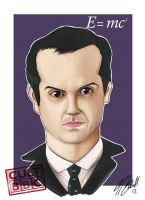 Moriarty caricature by tombirrellart