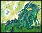 Totem dragon by SunStateGalleries