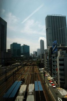Tokyo Monorail by DebsDebs