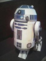 R2D2   paper model by Allhallowseve31