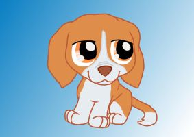 Beagle Puppy by PonyAdler86