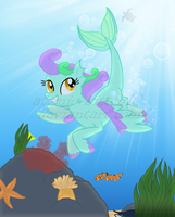 Like Flying in the Sea v.2 by atomic-kitten10
