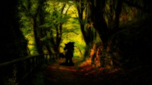 Lost In The Woods by Sonic201000