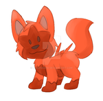 Drew the Red Pooch by washumow