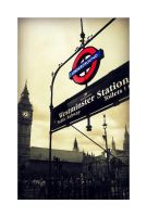 Westminster Station by eileanrose