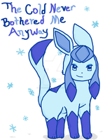Glaceon by Drizzle-The-Glaceon