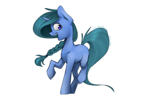Blue filly by ChibaDeer