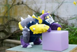 Bob the Insecticon Plushie 2 by Kaysiel