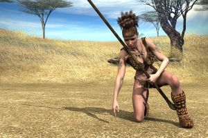 Stone Age Hunter by Atlantean6