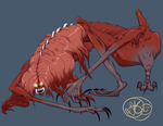 Bloodborne - Blood Starved Beast by Dezfezable