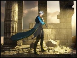 Vergil for Graywolftsume by 3D-Fantasy-Art