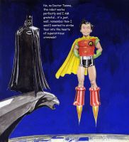 Batman and the (Astro) Boy Wonder by Nick-Perks