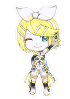 Kagamine Rin Append by Panda-Prodigy