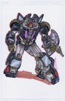 custom decepticon by markerguru