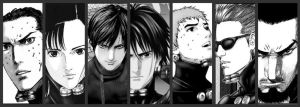 Team Gantz by Gosimmons
