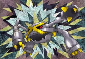 Metagross by Macuarrorro
