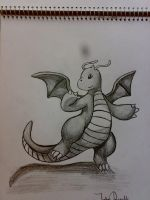 Dragonite by johnrenelle